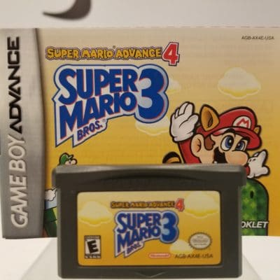 Super Mario Advance 4 Front