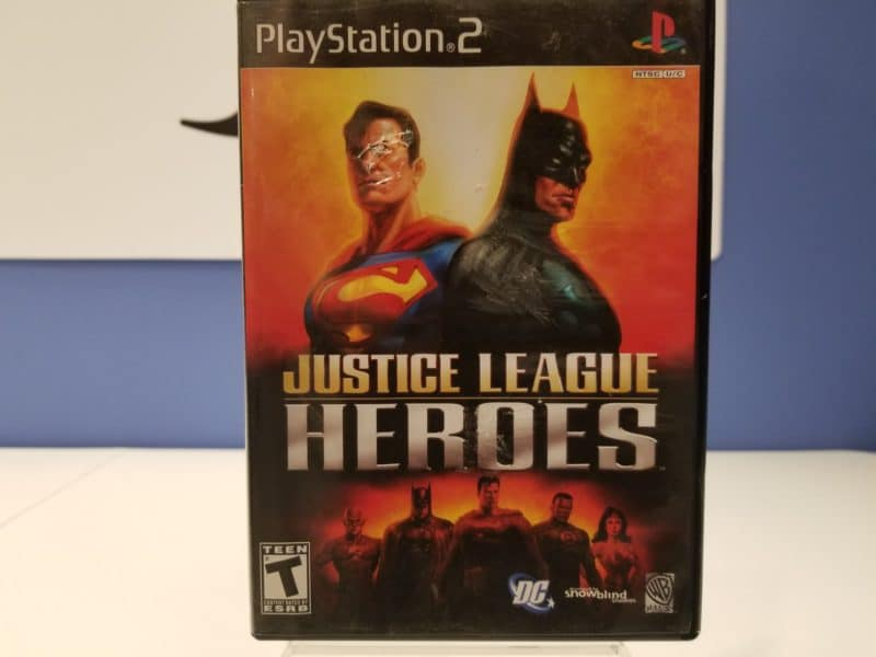 Justice League Heroes Front