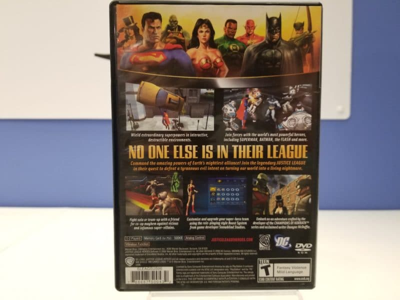 Justice League Heroes Back