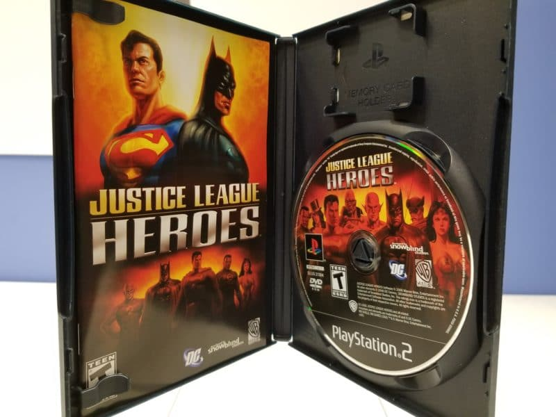 Justice League Heroes Disc