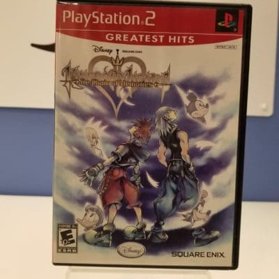 Kingdom Hearts Re Chain of Memories Front