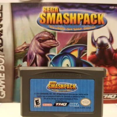 Sega Smash Pack Front