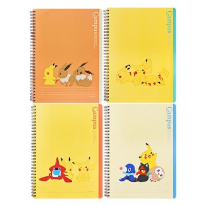 Pokemon Campus Notebook Front