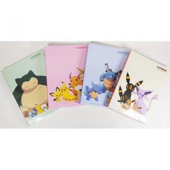 Pokemon Notebook Front