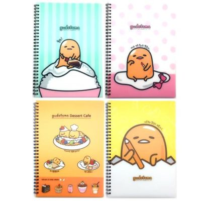 Gudetama PP Cover Notebook Front 1