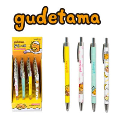 Gudetama Slim Mechanical Pencil Front