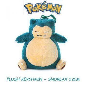 Snorlax Plushie Keychain Front