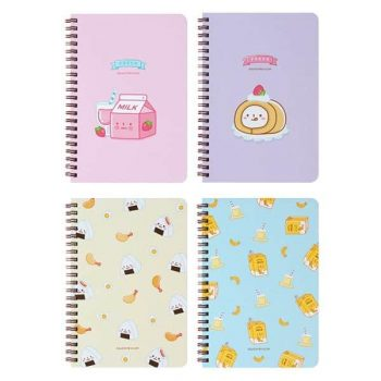 Convenience Store Hard Cover Notebook Front