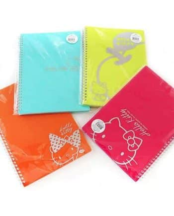 Hello Kitty Color Notebook Front 1