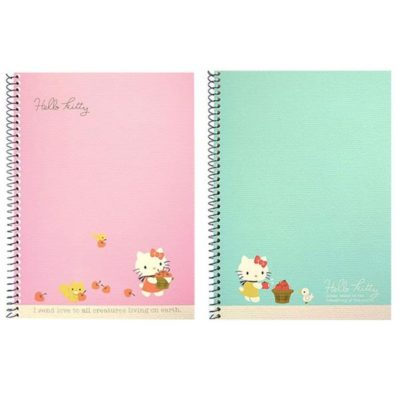 Hello Kitty Spiral Notebook Front