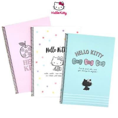Hello Kitty Wire Bound Notebook Front