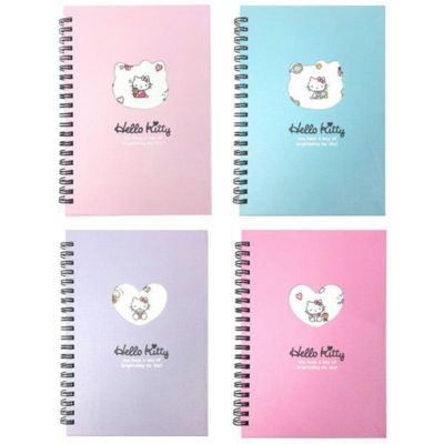Hello Kitty Hardcover Notebook Front
