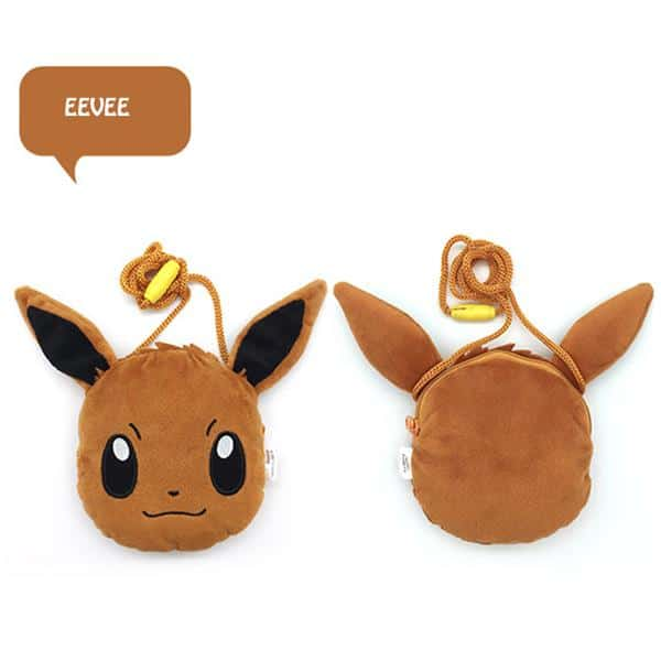 Eevee Coin Purse Front
