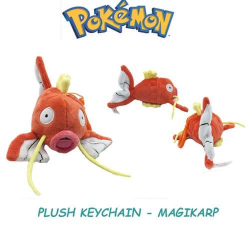 Magikarp Plushie Keychain Front