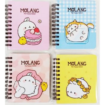 Molang Bunny Notebook Front