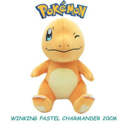 Winking Charmander Plushie Front