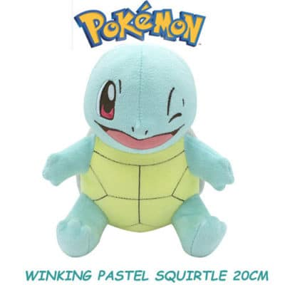 Winking Squirtle Plushie Front