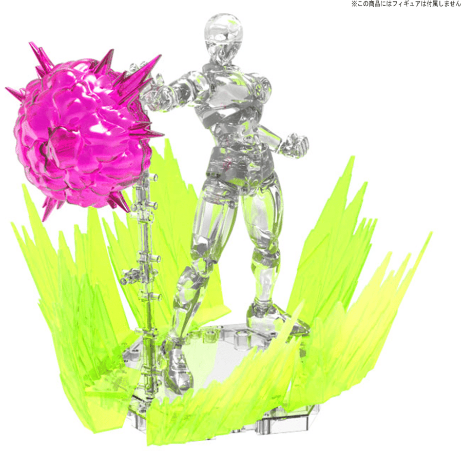 Burst Effect (Space Pink) Pose 1