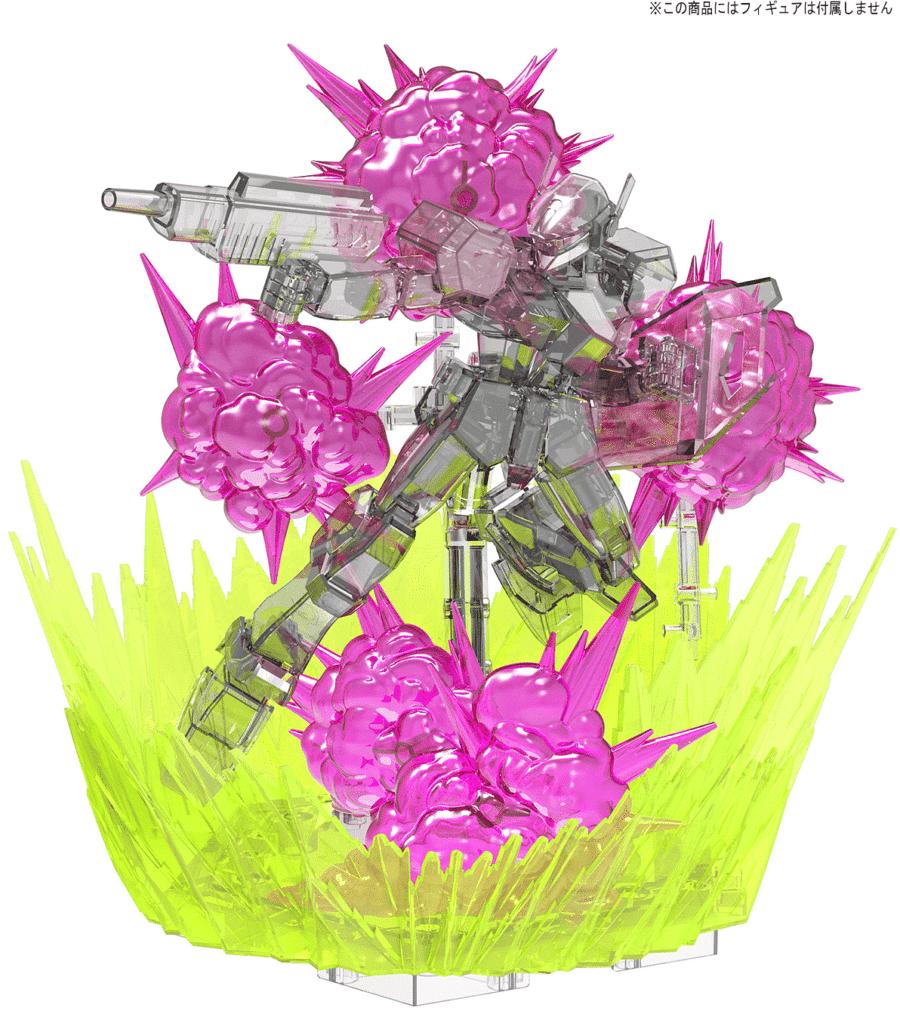 Burst Effect (Space Pink) Pose 2