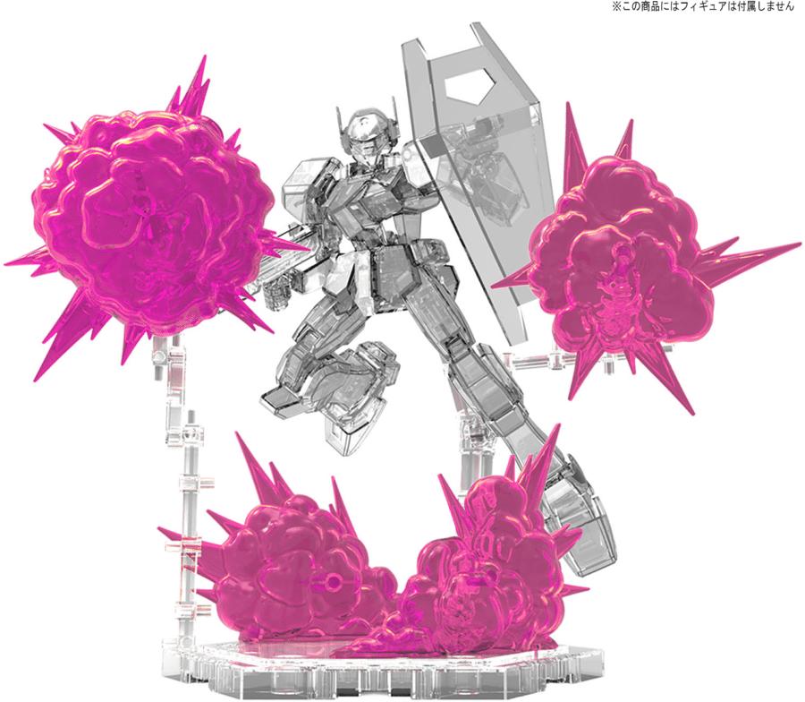Burst Effect (Space Pink) Pose 3