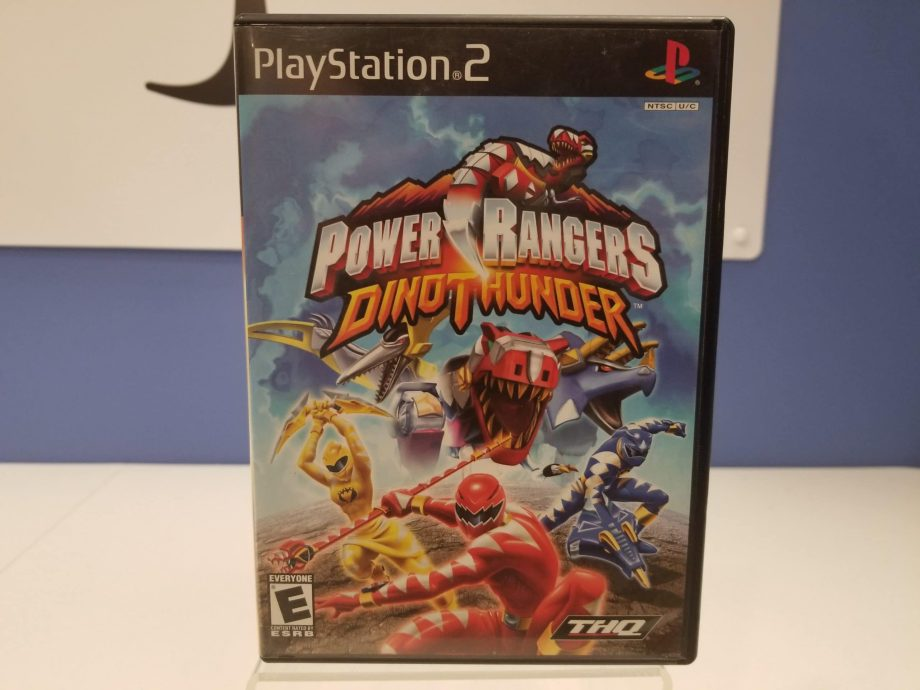 Power Rangers Dino Thunder Front