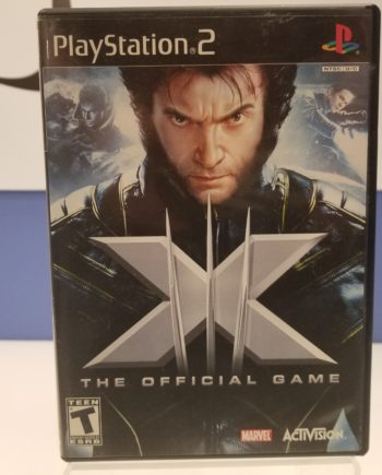 X-Men The Official Game Front