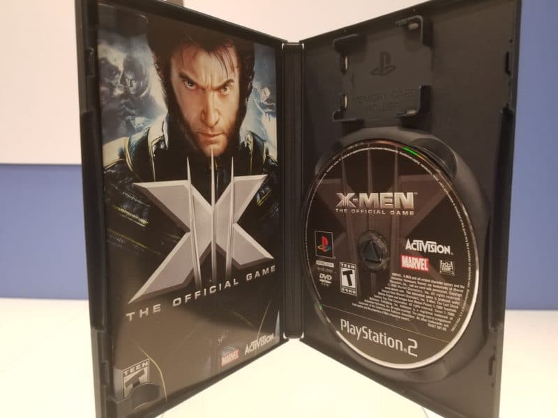 X-Men The Official Game Disc