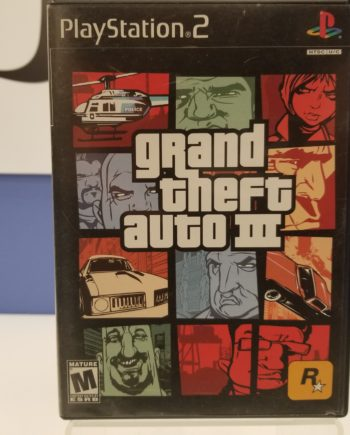 Grand Theft Auto III Front