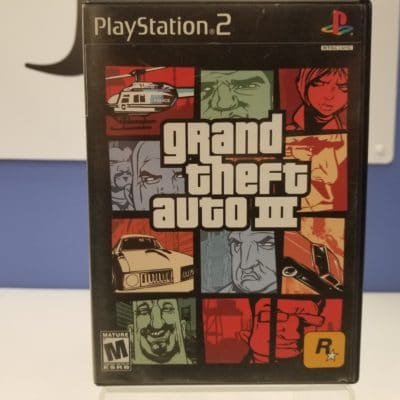 Grand Theft Auto III Front