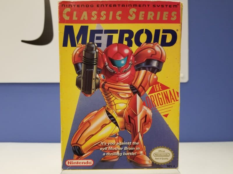 Metroid Box Front