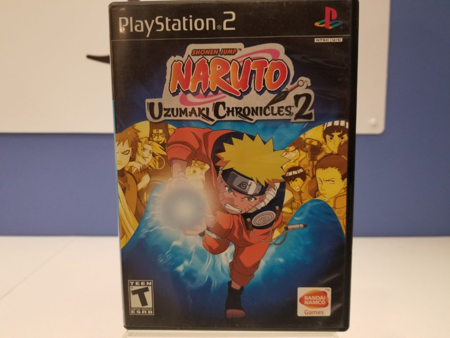 Naruto Uzumaki Chronicles 2 Front