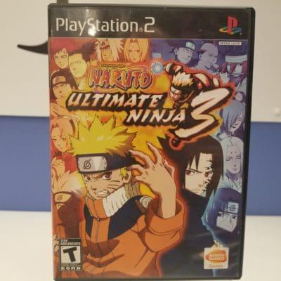 Naruto Ultimate Ninja 3 Front