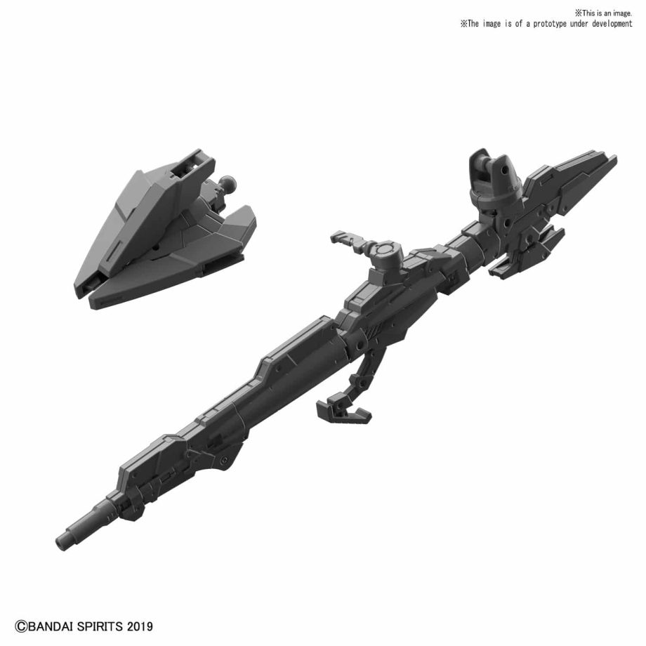 Arm Unit Rifle and Large Claw Pose 1