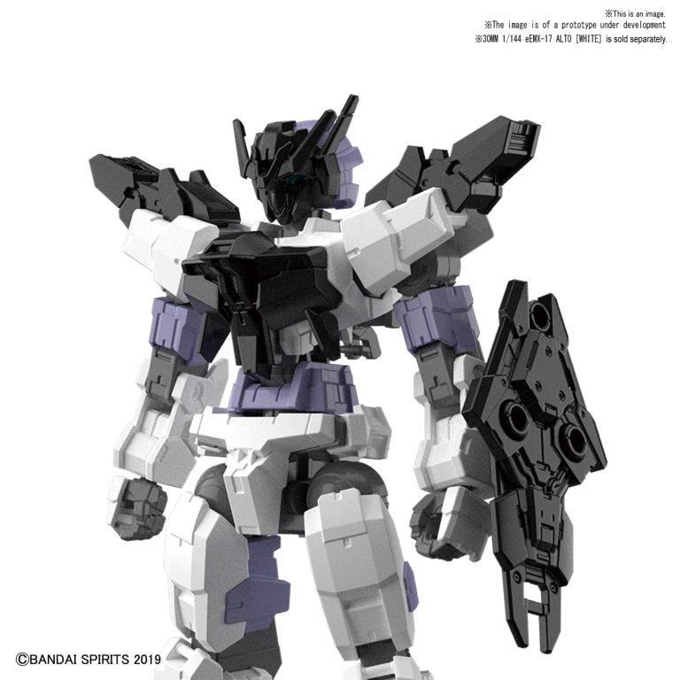 Black Option Armor for Commander Pose 1