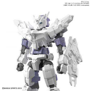White Option Armor for Commander Type Pose 1