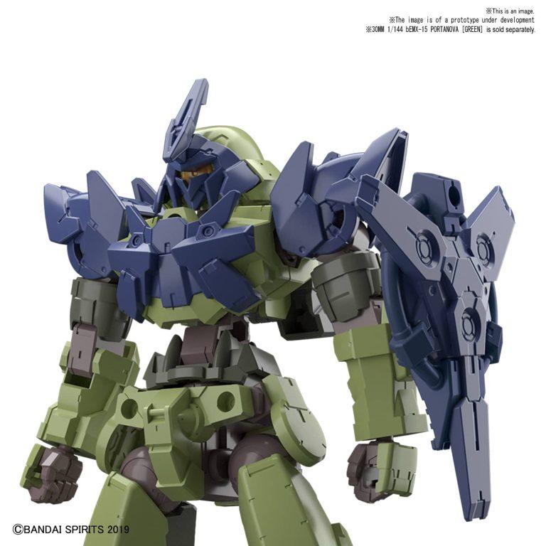 1/144 Portanova - Navy Option Armor for Commander Type Pose 1