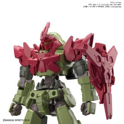 Portanova - Red Option Armor for Commander Type Pose 1