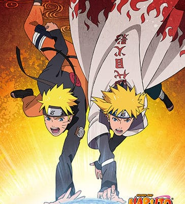 Naruto and Minato Wall Scroll