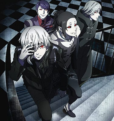 Tokyo Ghoul Group 1 Wall Scroll