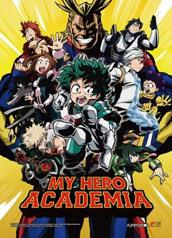 My Hero Academia Key Art 1 Wall Scroll
