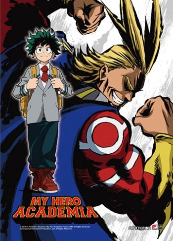 My Hero Academia Key Art 3 Wall Scroll