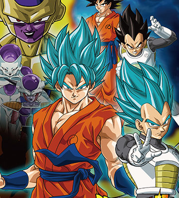 Dragon Ball Super Group 5 Wall Scroll