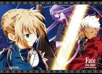 Saber Archer and Rider Wall Scroll