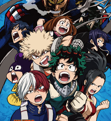 My Hero Academia Season 2 Group 1 Wall Scroll