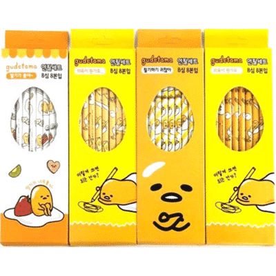 Gudetama Pencil (8-Pack)