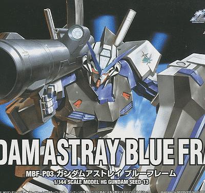 High Grade Gundam Astray Blue Frame Box
