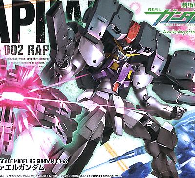 High Grade Raphael Gundam Box