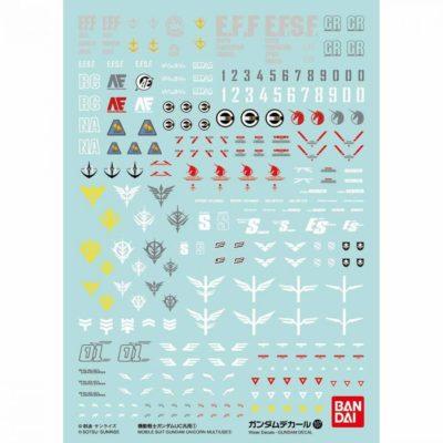 1/144 High Grade Mobile Suit Gundam Unicorn Multiuse - Set 107
