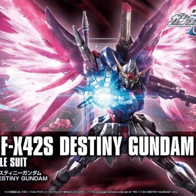 High Grade Destiny Gundam Box
