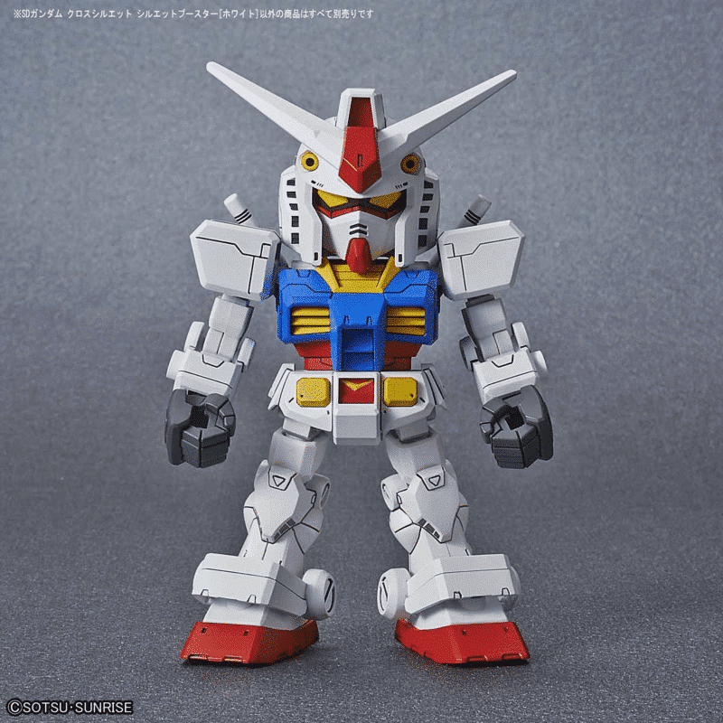 Silhouette Booster (White) Pose 4